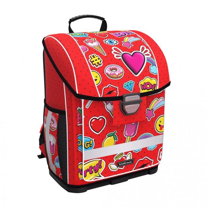 Купить Школьные рюкзаки, Erich Krause Ученический ранец с пластиковым дном ErgoLine Sweet Love