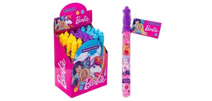 Мыльные пузыри Barbie Мыльные пузыри колба в термоплёнке 60 мл Т15014