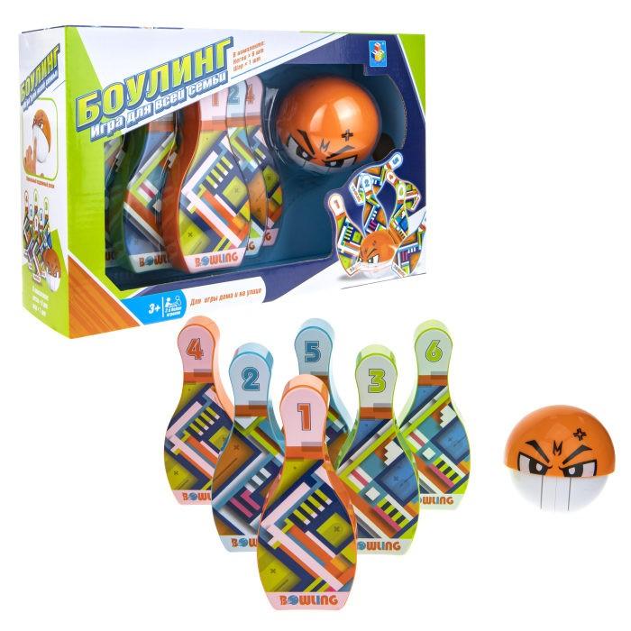 Спортивный инвентарь 1 Toy Игровой набор Боулинг игровой набор wow world шар orbeez 47425w