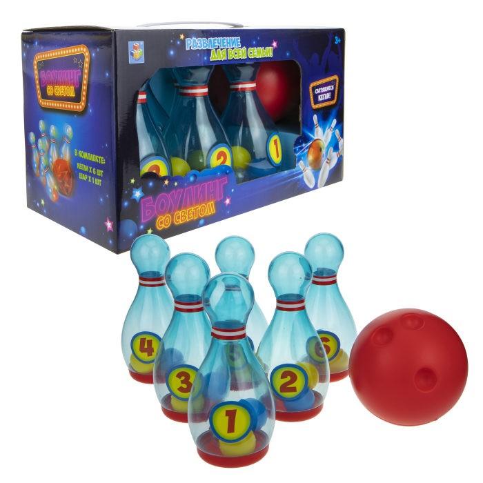 Спортивный инвентарь 1 Toy Игровой набор Боулинг с 6-ю кеглями недорого