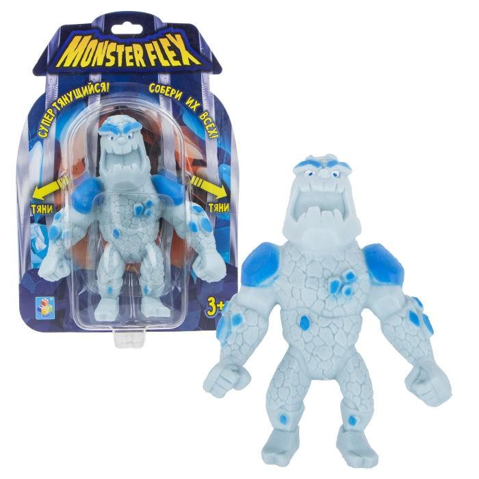 Игровые фигурки 1 Toy Monster Flex Человек-айсберг тянущаяся фигурка 15 см 1toy тянущаяся фигурка 1toy monster flex полярный медведь