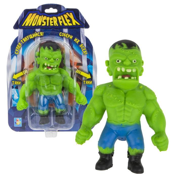 Игровые фигурки 1 Toy Monster Flex Франкенштейн тянущаяся фигурка 15 см 1toy тянущаяся фигурка 1toy monster flex полярный медведь