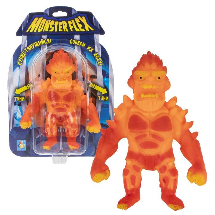 Игровые фигурки 1 Toy Monster Flex Вулкан тянущаяся фигурка 15 см 1toy тянущаяся фигурка 1toy monster flex полярный медведь