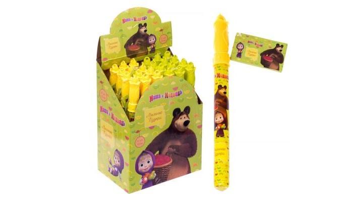 цена на Мыльные пузыри Маша и Медведь Мыльные пузыри колба в термоплёнке 60 мл Т15076
