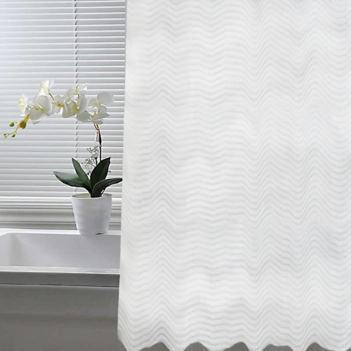 Шторы для ванны Crystal Shine Штора для ванной комнаты ПВХ 700-BL 180х180 см
