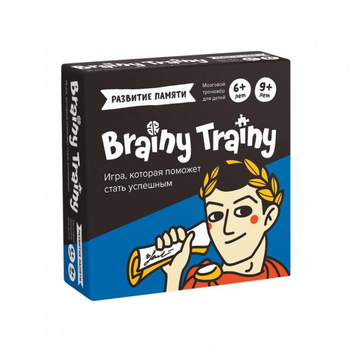 Картинка для Настольные игры Brainy Trainy Игра-головоломка Развитие памяти