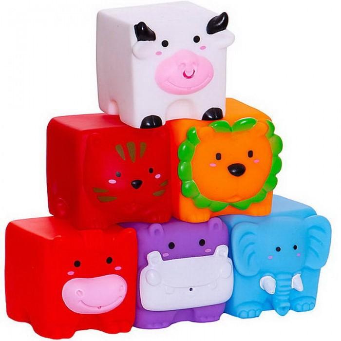 Игрушки для ванны Junfa Игрушка ванной Кубики Мои любимые животные