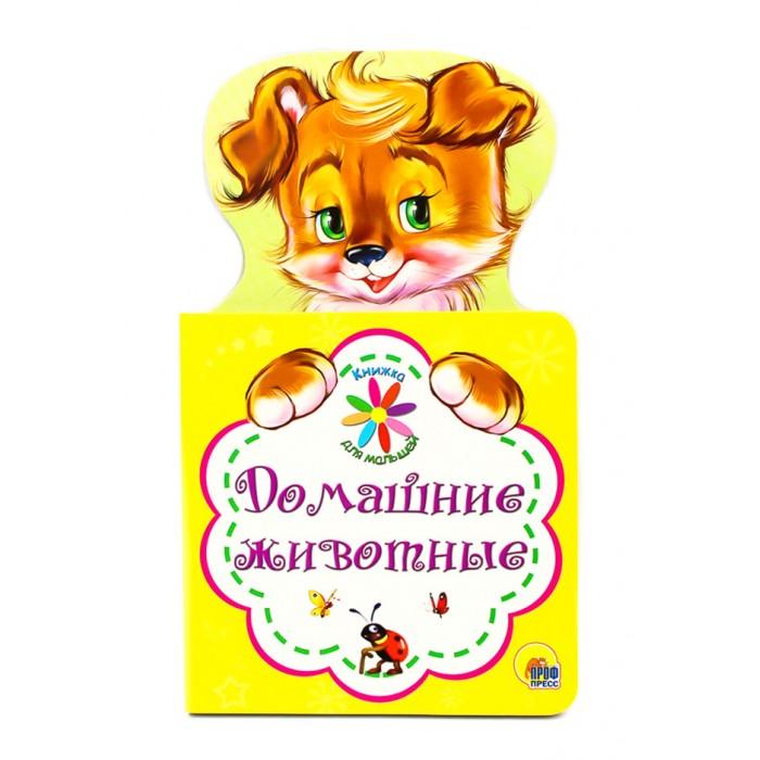 Книжки-картонки Проф-Пресс Книжка для малышей Домашние животные