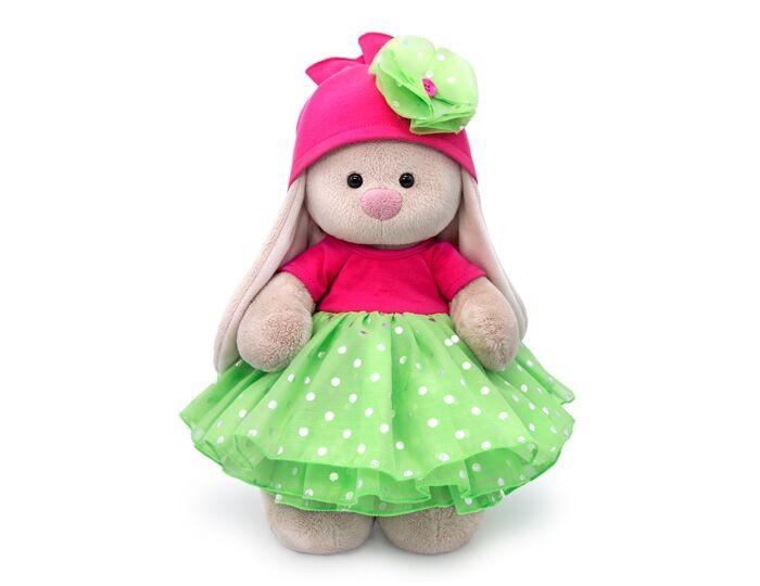 Купить Мягкие игрушки, Мягкая игрушка Budi Basa Зайка Ми в платье с пышной юбкой из органзы 25 см