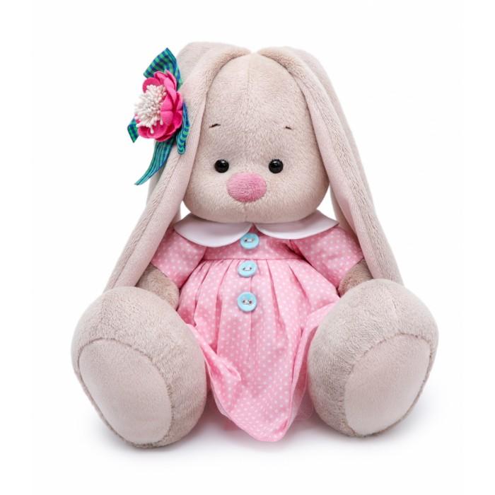 Купить Мягкие игрушки, Мягкая игрушка Budi Basa Зайка Ми Розовый крем 23 см