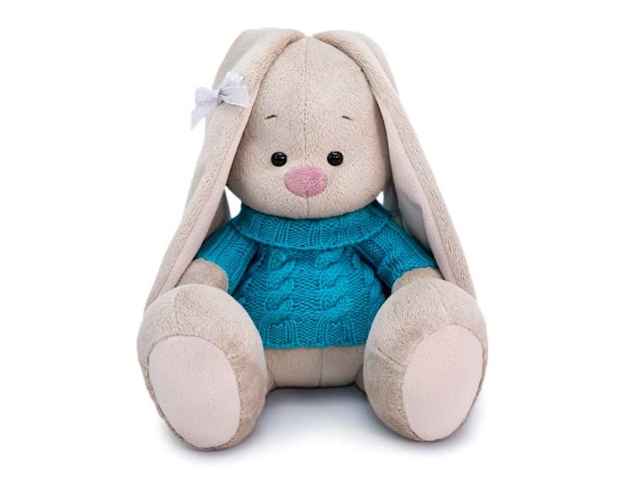 Мягкая игрушка Budi Basa Зайка Ми в голубом свитере 23 см фото