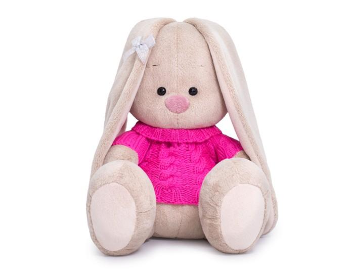 Мягкие игрушки, Мягкая игрушка Budi Basa Зайка Ми в розовом свитере 18 см  - купить со скидкой