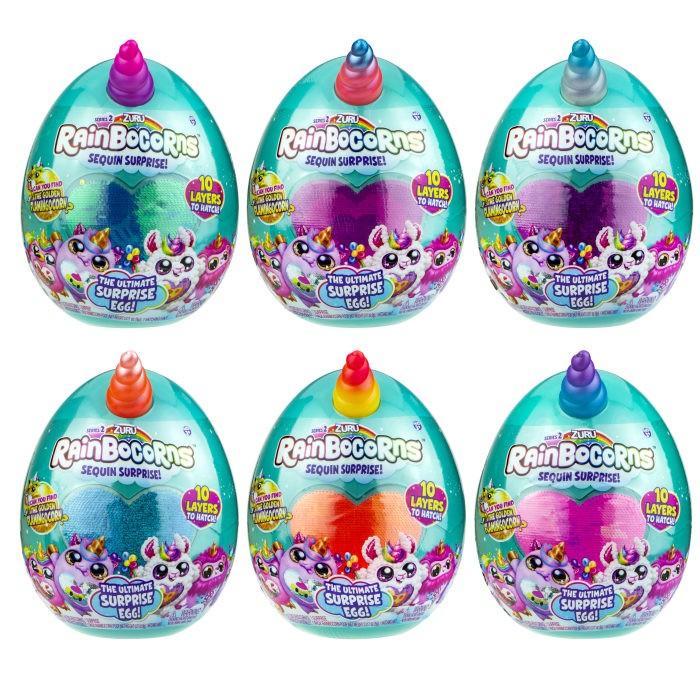 Картинка для Мягкие игрушки Zuru Плюш-сюрприз RainBocoRns в яйце S2 Т17013А