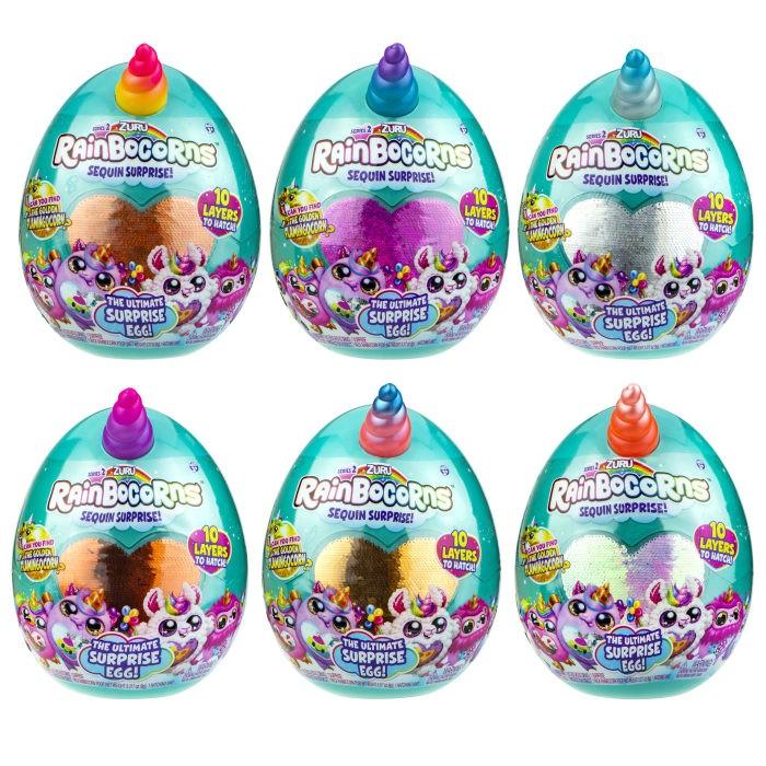Картинка для Мягкие игрушки Zuru Плюш-сюрприз RainBocoRns в яйце S2 Т17013В