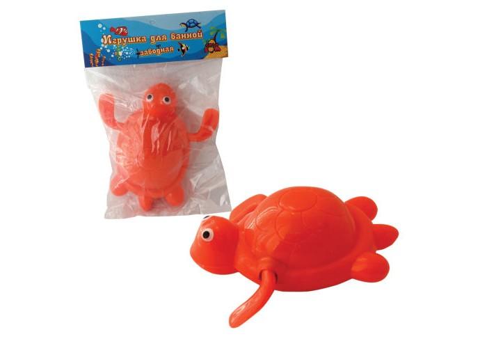 Игрушки для ванны Тилибом Заводная черепаха 9 см