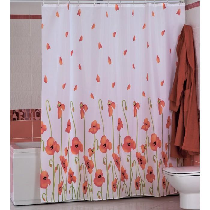 Купить Шторы для ванны, Miranda Шторы для ванн полиэстер Poopy 180х200 см