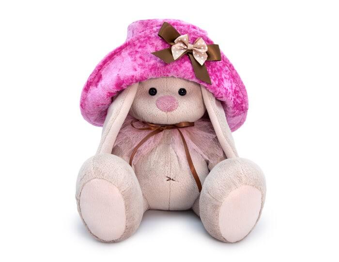 Картинка для Мягкие игрушки Budi Basa Зайка Ми в шляпе 23 см