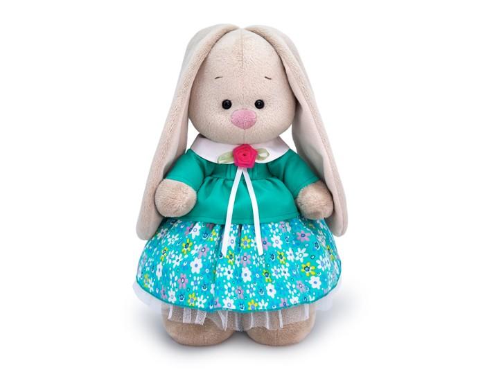 Мягкая игрушка Budi Basa Зайка Ми в бирюзовой курточке 32 см фото