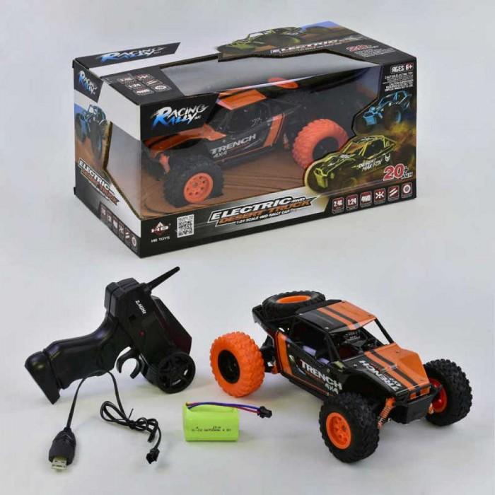 Фото - Радиоуправляемые игрушки Junfa Машинка внедорожник радиоуправляемая 1:24 радиоуправляемые игрушки 1 toy багги hot wheels машинка на р у