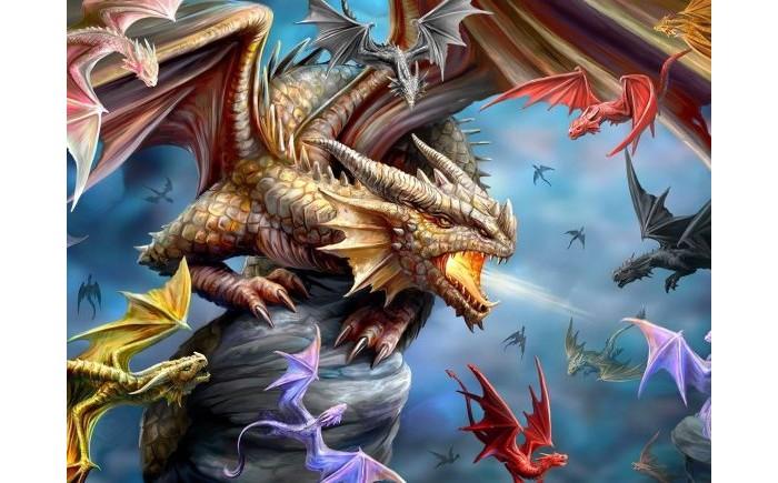 Купить Пазлы, Prime 3D Пазл Super Клан дракона (500 деталей)