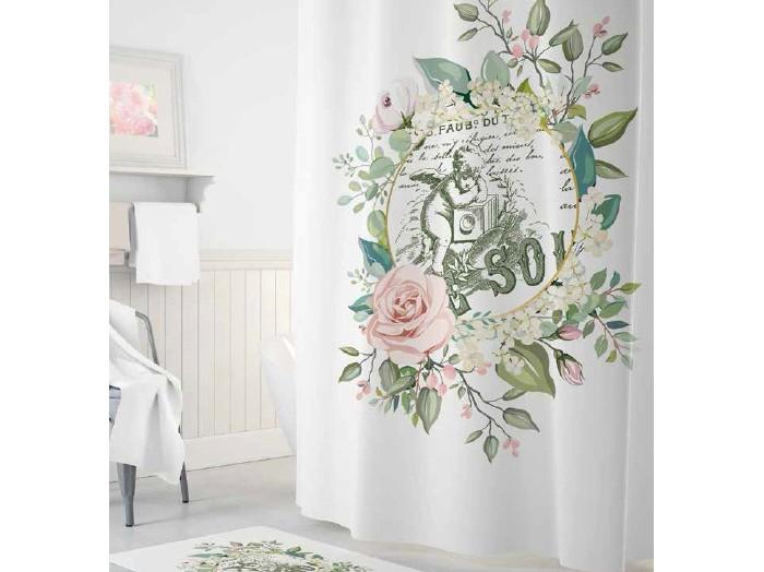 Купить Шторы для ванны, Tropikhome Шторы для ванн полиэстер Digital Printed Angel 180х200 см