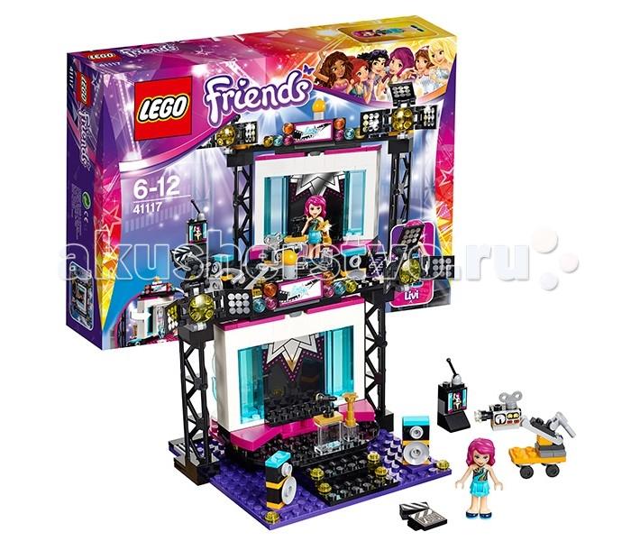 Lego Lego Friends 41117 Лего Подружки Поп-звезда: телестудия lego friends 41104 поп звезда гримерная