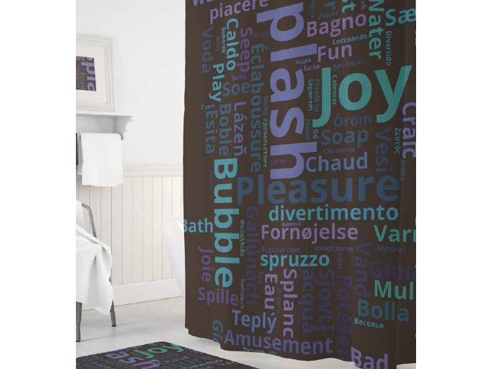 Tropikhome Шторы для ванн полиэстер Digital Printed Splash 180х200 см фото