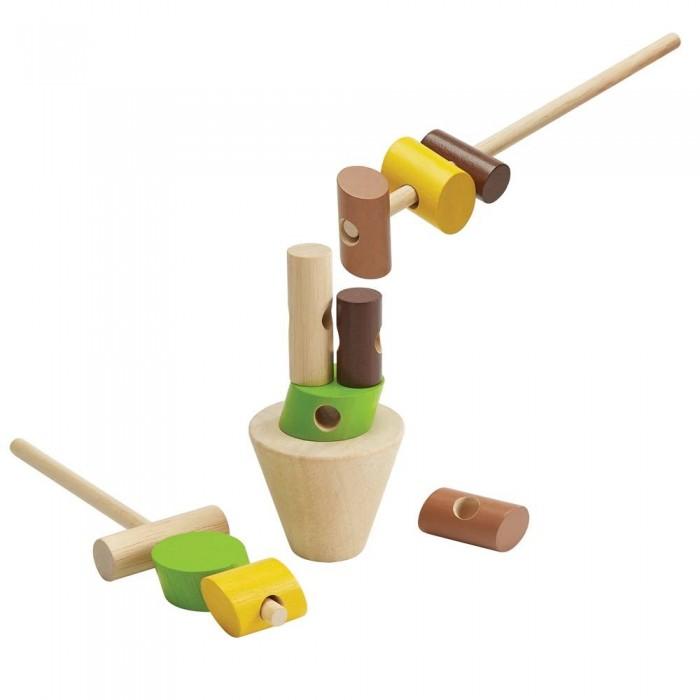 Фото - Деревянные игрушки Plan Toys Игра Построй башню игра plan toys волчки 4132
