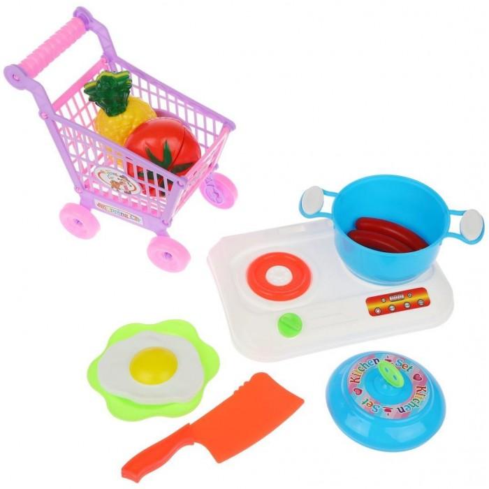 Ролевые игры Наша Игрушка Игровой набор Продукты (7 предметов) LD597 ролевые игры совтехстром игровой набор продукты 2 10 предметов