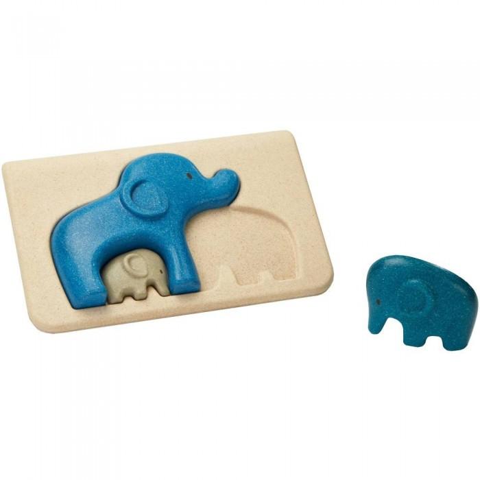Деревянные игрушки Plan Toys Пазл Слоники plan toys верстак разноцветный