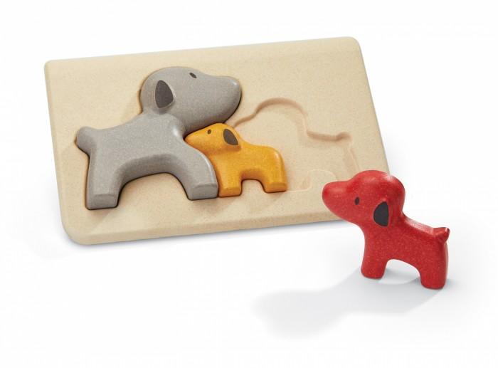 Деревянные игрушки Plan Toys Пазл Собачки plan toys верстак разноцветный