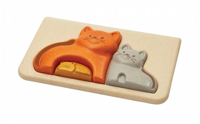 Деревянные игрушки Plan Toys Пазл Котята plan toys верстак разноцветный