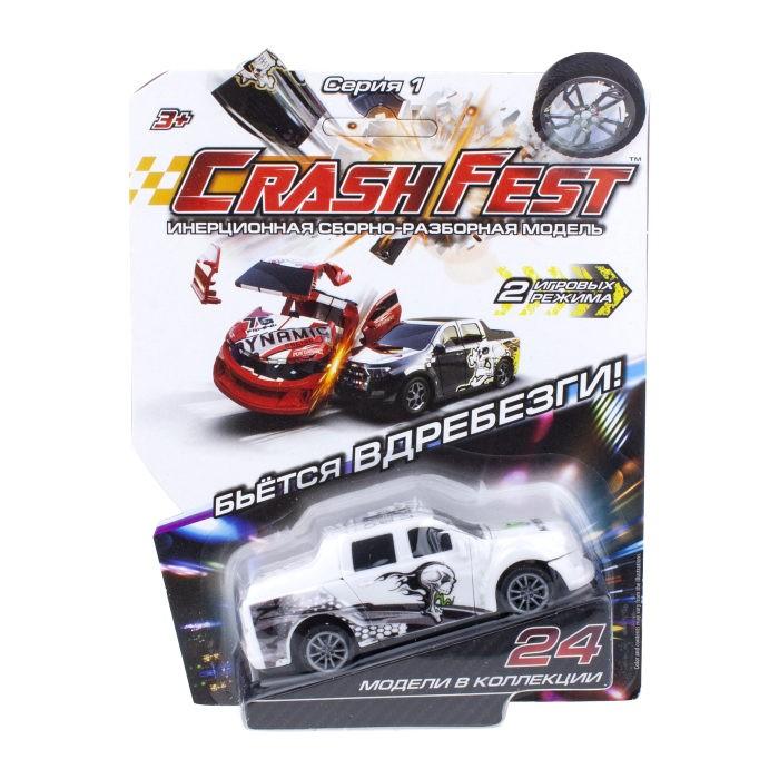 Машины 1 Toy CrashFest Monster машинка инерционная разборная 2 в