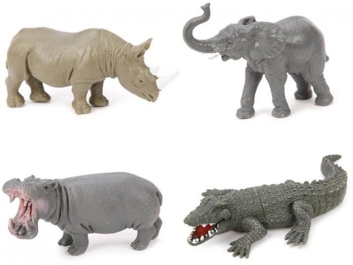 Игровые фигурки Наша Игрушка Набор фигурок Дикие животные Jungle animal 4 шт.