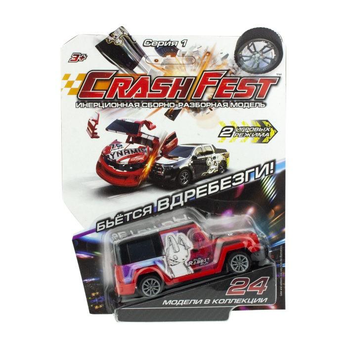 Машины 1 Toy CrashFest Rabbit машинка инерционная разборная 2 в