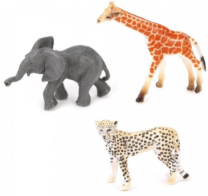 Игровые фигурки Наша Игрушка Набор фигурок Дикие животные 3 шт. mattel my mini mixi q s dwr15 набор из 3 фигурок page 8