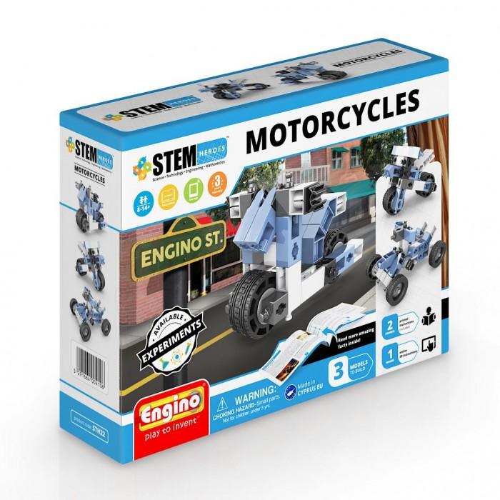 Конструктор Engino Stem Heroes Набор из 3 моделей Мотоциклы фото