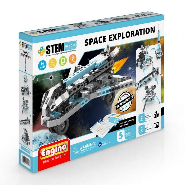 Купить Конструкторы, Конструктор Engino Stem Heroes Набор из 5 моделей Освоение космоса