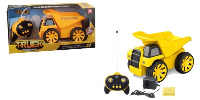 Радиоуправляемые игрушки, 1 Toy Горстрой Машина самосвал на радиоуправлении  - купить со скидкой