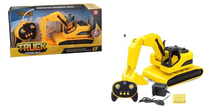 Купить Радиоуправляемые игрушки, 1 Toy Горстрой Машина экскаватор на радиоуправлении