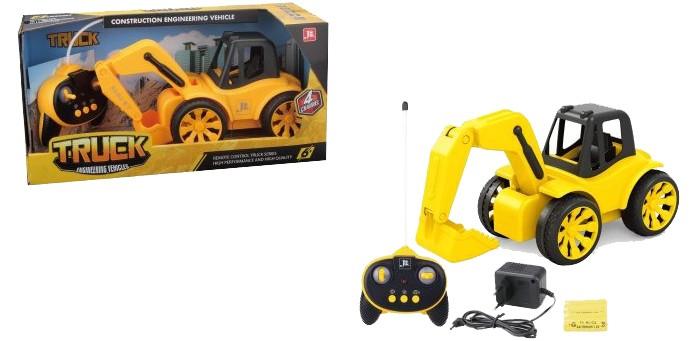Купить Радиоуправляемые игрушки, 1 Toy Горстрой Машина авто экскаватор на радиоуправлении