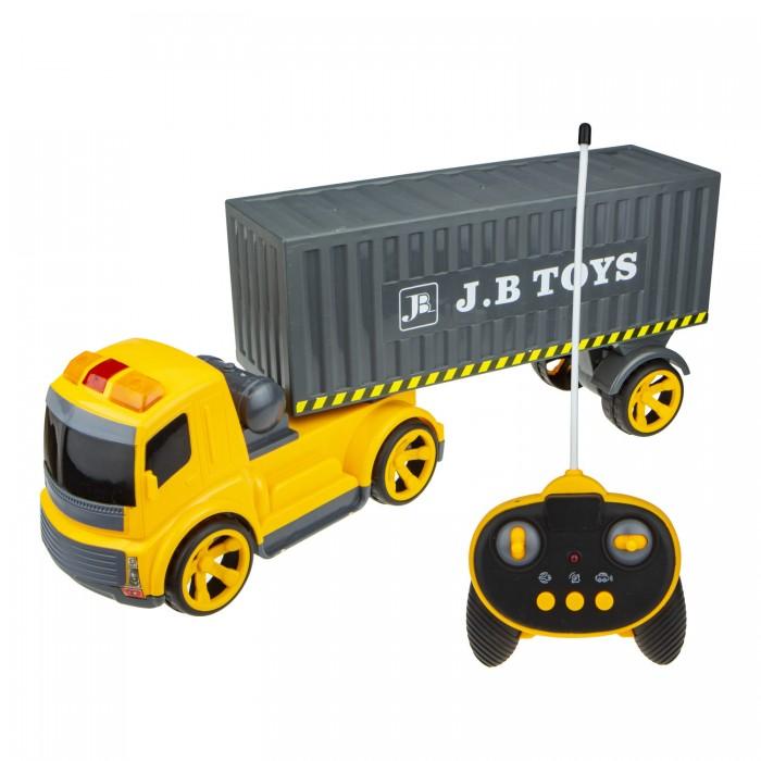 Купить Радиоуправляемые игрушки, 1 Toy Горстрой Машина контейнеровоз на радиоуправлении