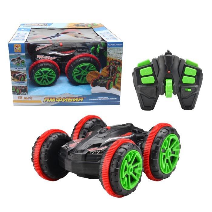 Купить Радиоуправляемые игрушки, 1 Toy Драйв Трюковая машина-перевертыш амфибия на радиоуправлении