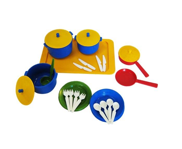 Игровые наборы Плэйдорадо Набор посуды Хозяюшка 4 тарелки мелкие фарфоровые shigoni