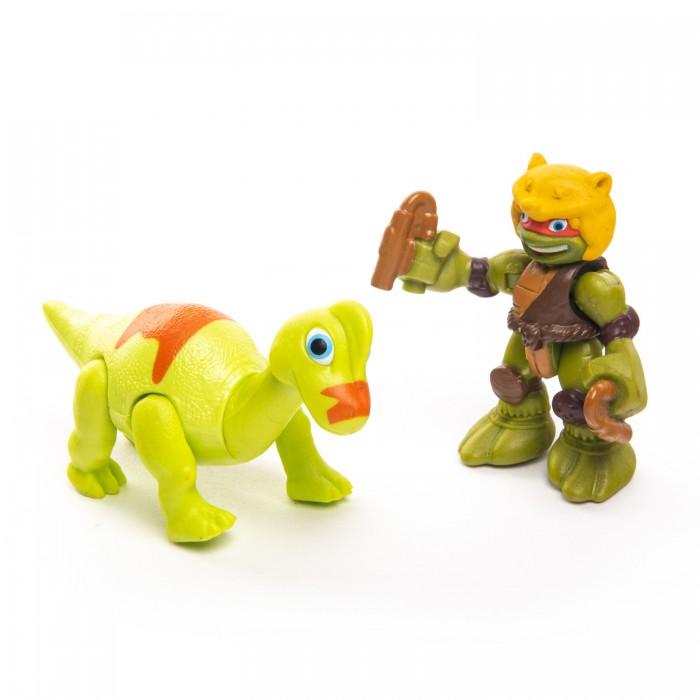 Купить Игровые фигурки, Playmates TMNT Фигурка Дино Майк с Брахиозавром