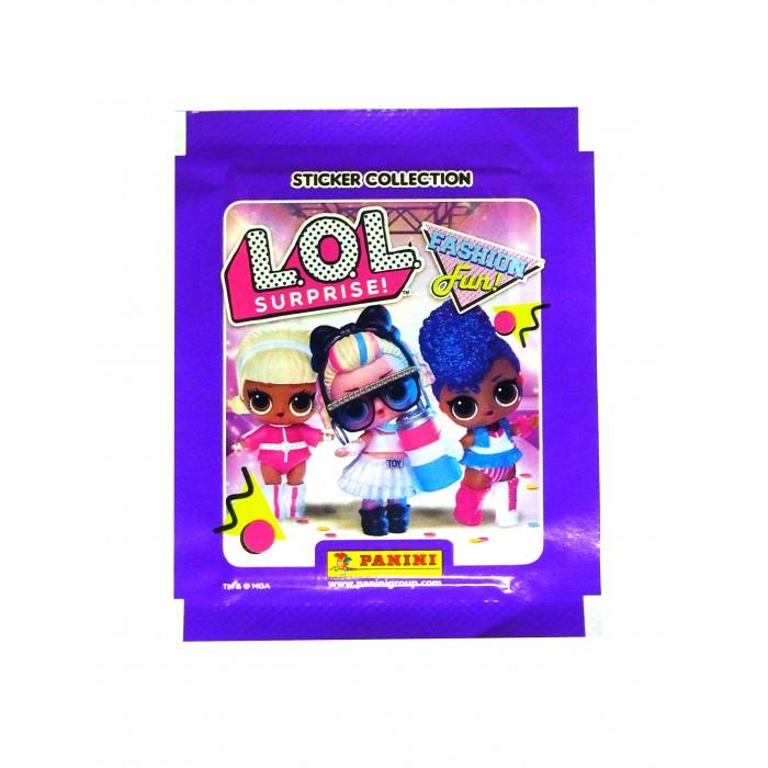 Детские наклейки Panini Наклейки LOL Surprise 3 детские наклейки panini блистер lol surprise 3