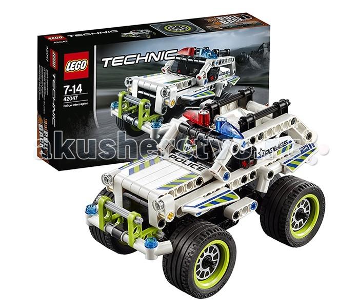 Lego Lego Technic 42047 Лего Техник Полицейский патруль lego lego technic 42070 лего техник аварийный внедорожник 6х6