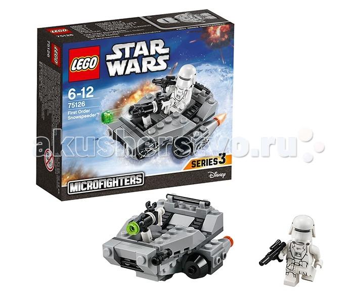 Lego Lego Star Wars 75126 Лего Звездные Войны Снежный спидер Первого Ордена lego star wars 75166 лего звездные войны спидер первого ордена