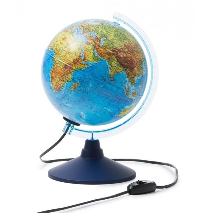 Globen Глобус Земли интерактивный физико-политический с подсветкой и очками VR 210 мм Глобус Земли интерактивный физико-политический с подсветкой и оч