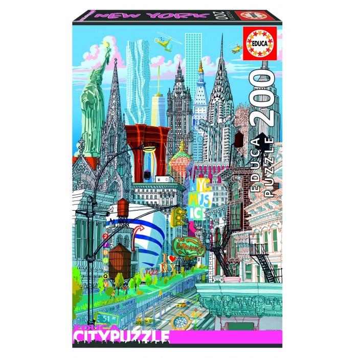 Купить Пазлы, Educa Пазл Нью-Йорк (200 деталей)